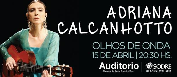 Tickantel - Comprá entradas por Internet para Adriana Calcanhotto